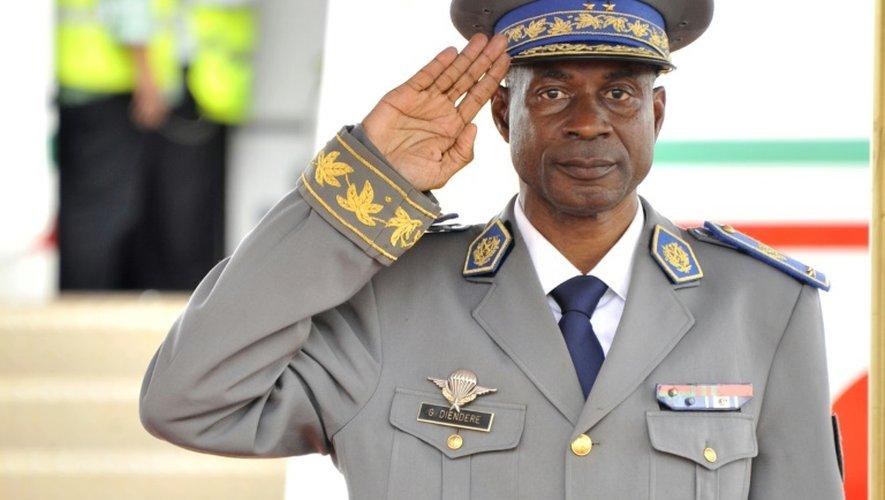 Le Général Gilbert Diendéré, le 18 septembre 2015 à Ouagadougou