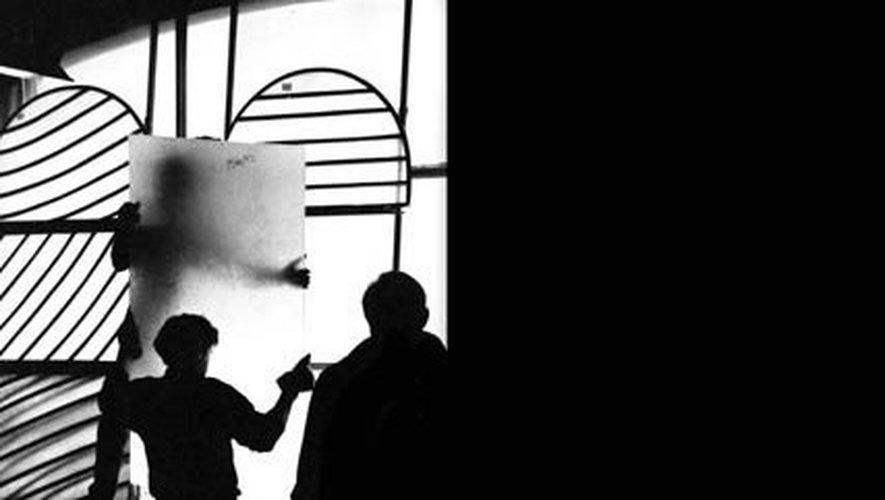 Le maître-verrier Jean-Dominique Fleury a travaillé pendant sept ans sur les vitraux avec Pierre Soulages.