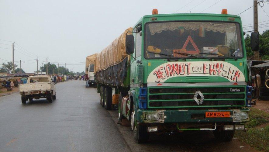 Le camion assure désormais le transport de marchandises entre le port de Cotonou et le Niger.