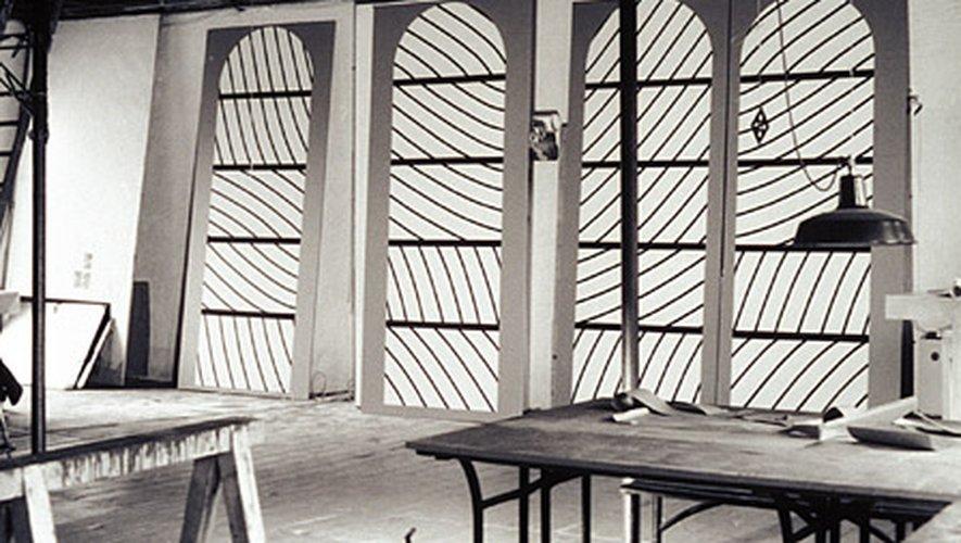 Vingt ans après Pierre Soulages, Conques célèbre ses vitraux