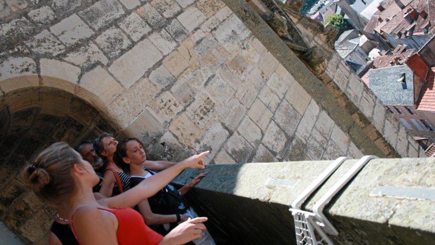 Le cœur de la bastide est prisé par les touristes.
