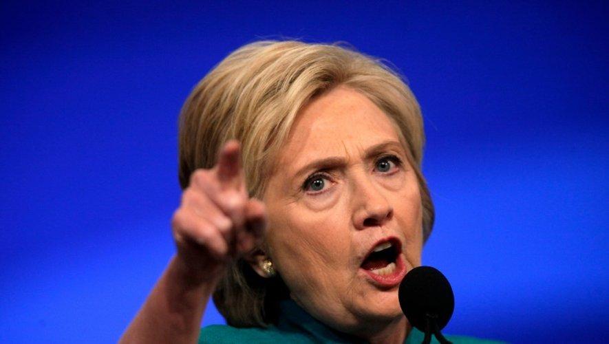 Hillary Clinton à Las Vegas, Nevada le 19 juillet 2016