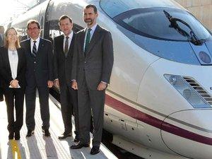 TGV: inauguration de la ligne France-Espagne