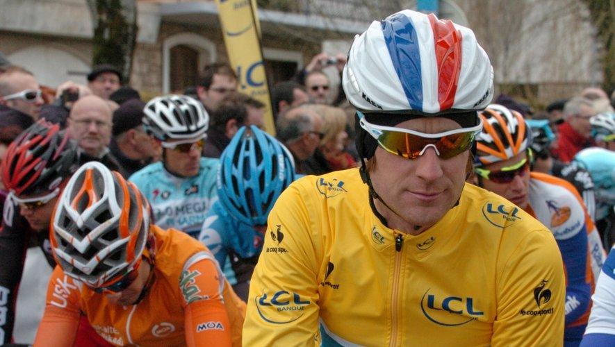 Un maillot jaune à Rodez, trois ans après Wiggins et le Paris-Nice 2012 ?  La cité aveyronnaise n'en a jamais été aussi près.