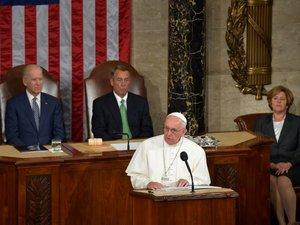 Au Congrès, le pape appelle les élus américains à répondre aux défis mondiaux