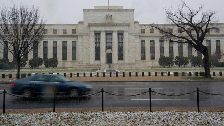 La Banque centrale des Etats-Unis (Fed), le 10 décembre 2013 à Washington
