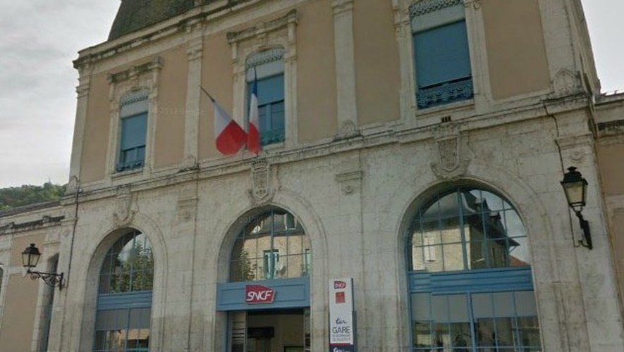 La gare de Villefranche-de-Rouergue.