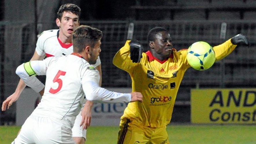 Dernier match de championnat en 2013 pour Rodez qui concède le nul (1-1) face à Nice II sur sa pelouse.