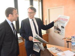 Rodez. La visite d'Emmanuel Macron en images