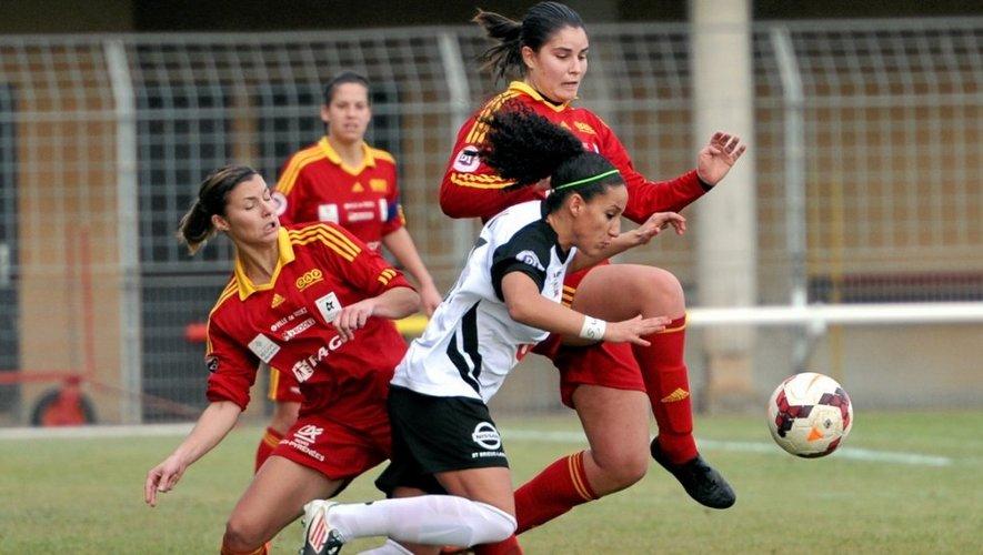 Déterminées, les Ruthénoises ont dû accepter le match nul contre Guingamp (0-0).