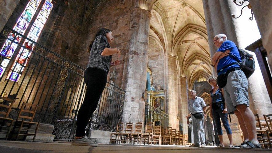 Les Amis de la Cathédrale proposent également une visite du clocher (87 mètres) tous les samedis à 15 heures
