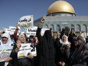 Jérusalem: affrontements entre policiers israéliens et musulmans sur l'esplanade des mosquées (AFP)