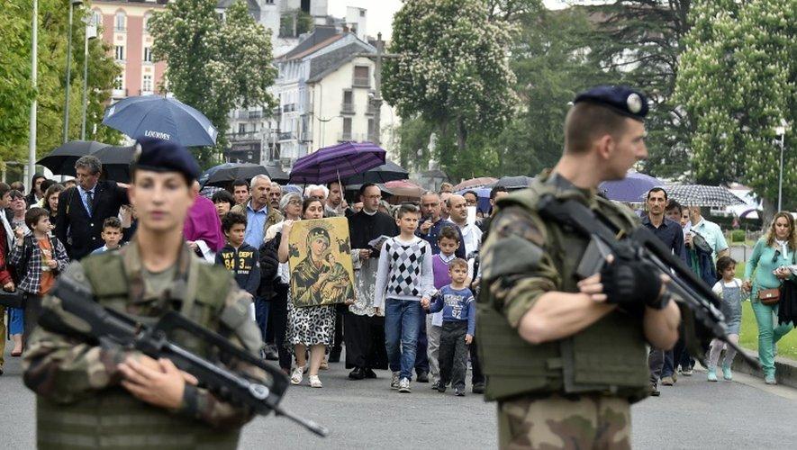 Lourdes se prépare à un pélerinage du 15 août sous haute sécurité