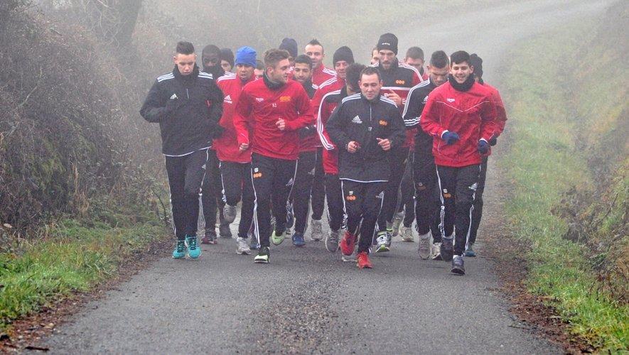 Coupe de France oblige, les Ruthénois ont repris l'entraînement un peu plus tôt que prévu.