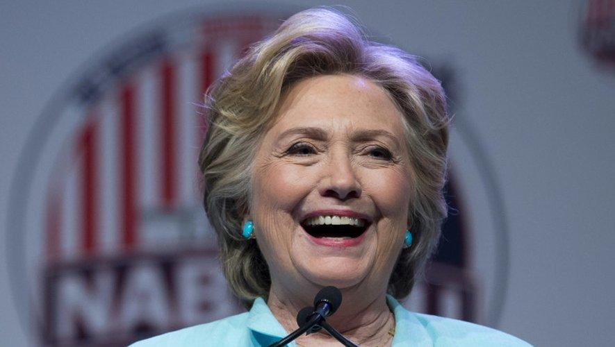 Hillary Clinton le 5 août 2016 à Washington