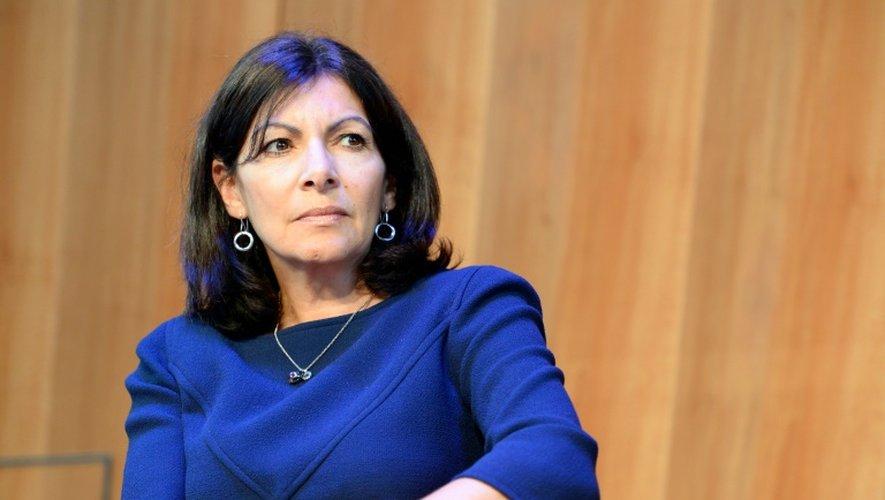 La maire PS de Paris Anne Hidalgo, le 30 mai 2016 à Paris