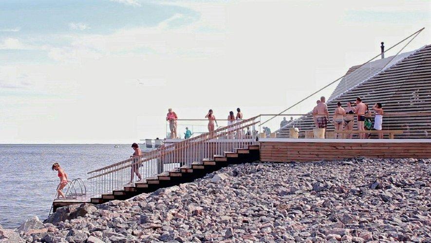 Le sauna public, la dernière tendance en Finlande