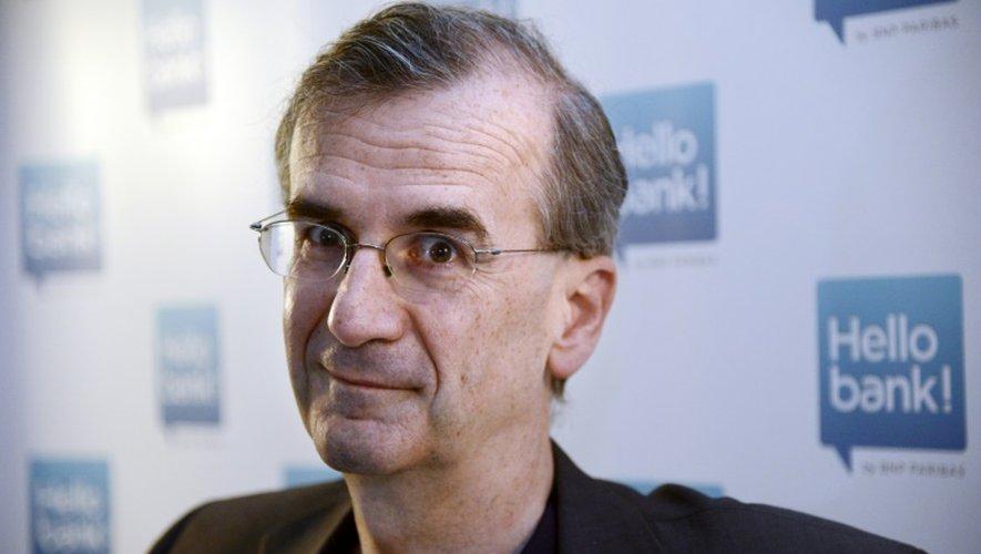 François Villeroy de Galhau candidat au poste de gouverneur de la Banque de France, le 16 mai 2013 à Paris