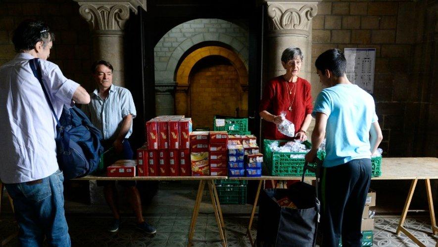 Depuis plus de vingt ans, l'association Août Secours Alimentaire prend le relais de 80 associations et services sociaux pendant l'été