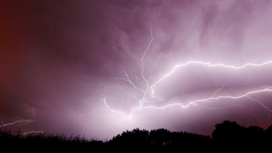 Les pluies orageuses vont perdurer en Aveyron.