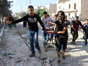 Des médecins d'Alep impuissants face à la mort