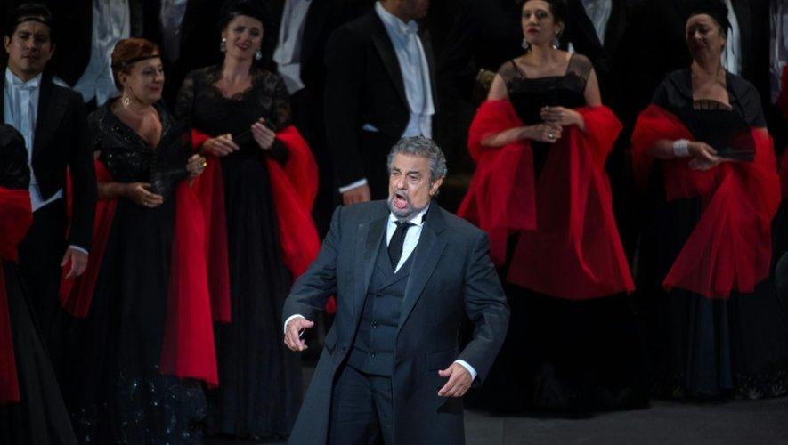 """Placido Domingo, dans """"La Traviata"""" le 31 juillet 2016 à Orange"""