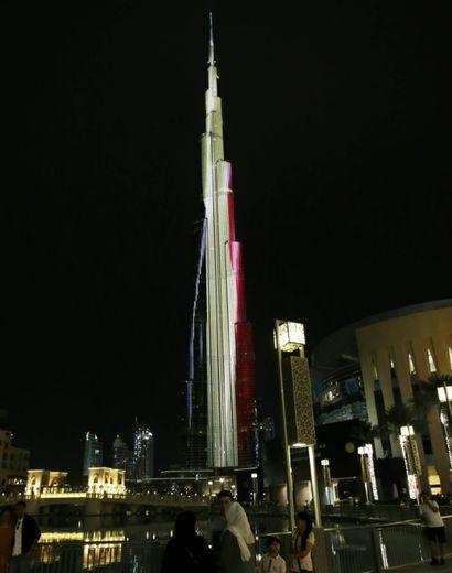 Burj Khalifa, la plus haute tour du monde, le 22 mars 2016 à Dubaï