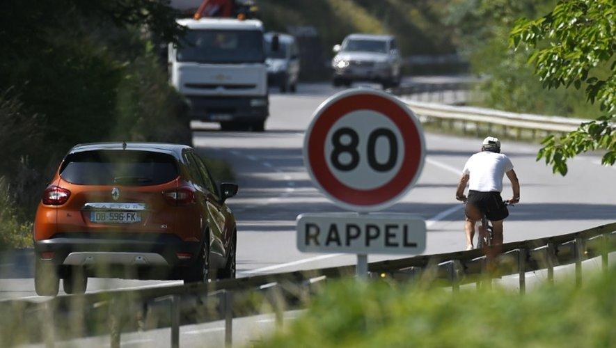 Circulation le 2 juillet 2015 sur la N7 entre Gervans and Tain-l'Hermitage près de Valence