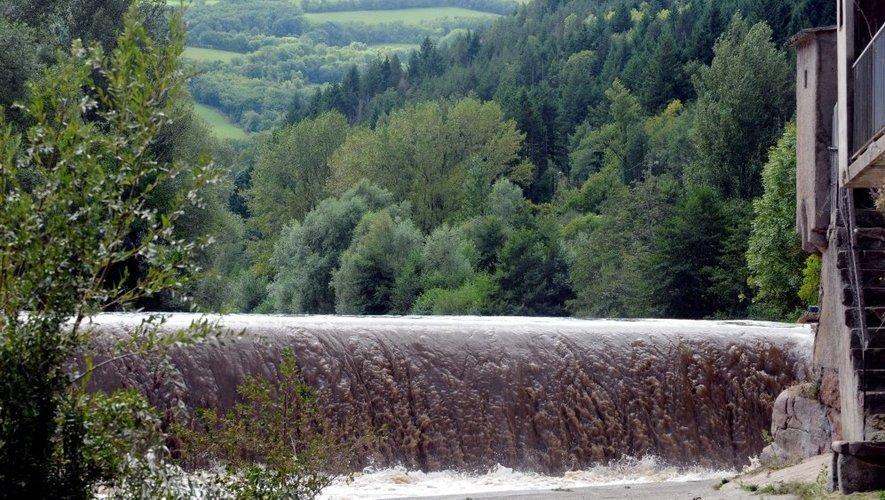 Le sol chargé d'eau suite aux précipitations de la nuit, en partie responsable du décès de la septuagénaire.