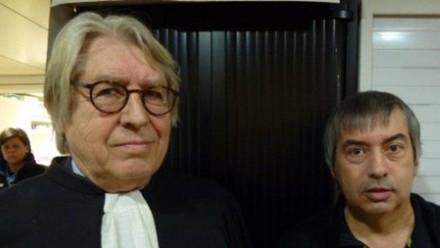 Me Jacques Levy avec Jean-Louis Cayrou.