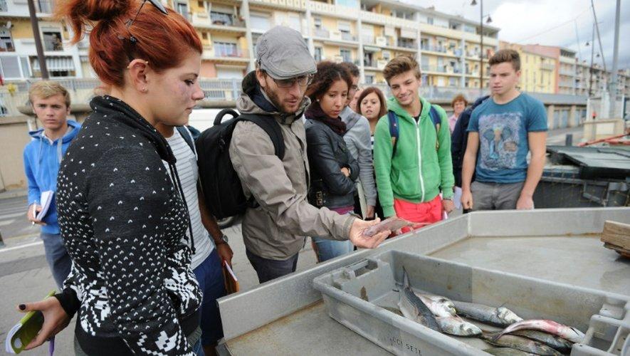 """A Sète, une formation supérieure pour les pêcheurs de demain, """"sentinelles de la mer"""""""