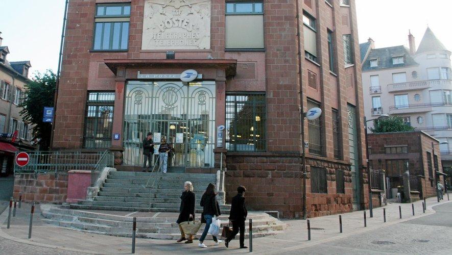 Rodez jours sans bureau de poste en centre ville
