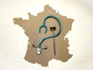 Les médecins ferment leurs cabinets contre la loi santé