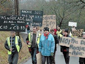La contournement sud de Villefranche au cœur des débats