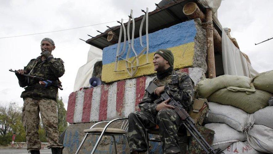 Ukraine: négociations de paix dans l'impasse, la trève se consolide