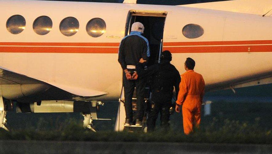 L'un des Français soupçonnés d'être des jihadistes, à son départ en  avion de Montpellier 24 septembre 2014 à destination de Paris