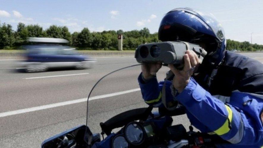 Sur une portion limitée à 110km/h, les gendarmes ont relevé pas moins de 23 infractions en deux heures.