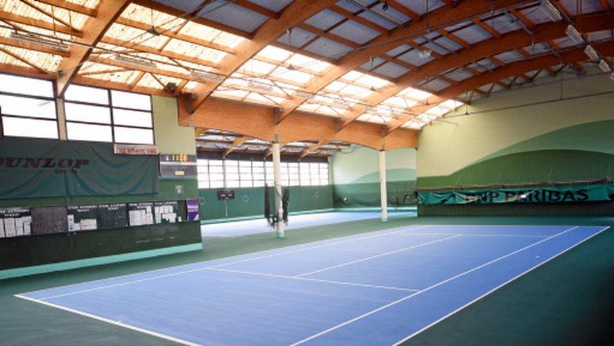 Le nouveau revêtement des courts de Vabre est le même qu'à l'US Open ou Paris Bercy.