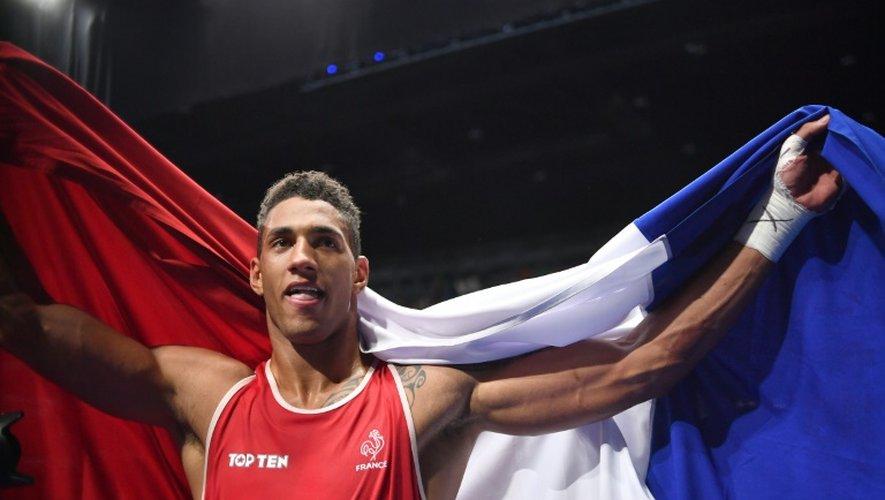 Tony Yoka champion olympique des super-lourds à Rio, le 21 août 2016