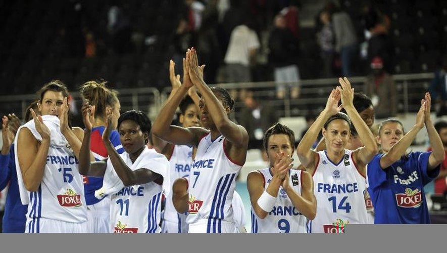 L'équipe de France à l'issue de sa victoire face au Canada en phase de groupe du Mondial, le 30 septembre 2014 à Istanbul