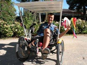 De l'Aveyron  au Maroc en vélo électrique