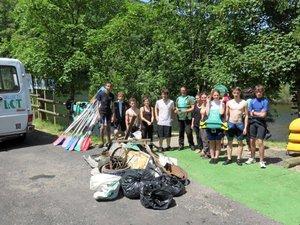 Un appel aux bénévoles pour nettoyer le Lot près d'Espalion