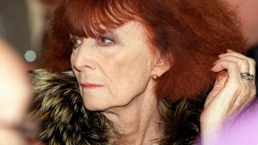 La couturière Sonia Rykiel le 22 octobre 2000, à Paris