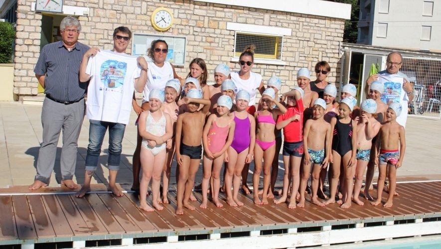 Cent enfants au total ont bénéficié cet été de l'opération relayée sur place par le club des Dauphins decazevillois et la municipalité.