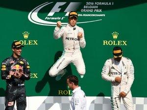 GP de Belgique: Rosberg (Mercedes) et se rapproche d'Hamilton 3e