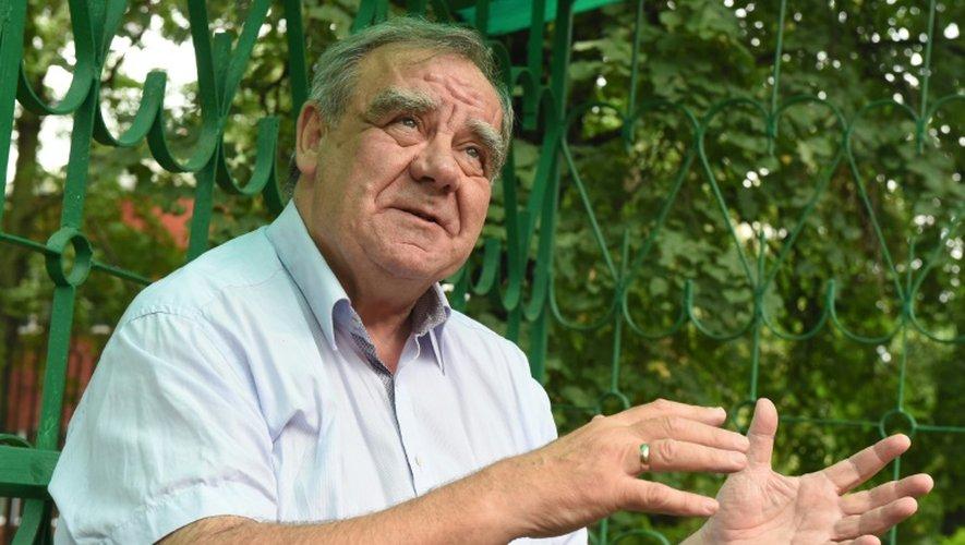 Le psychiatre Arkadi Chmilovitch, qui dirige les programmes de réinsertion à l'hôpital Alexeïev de Moscou, le 20 août 2016