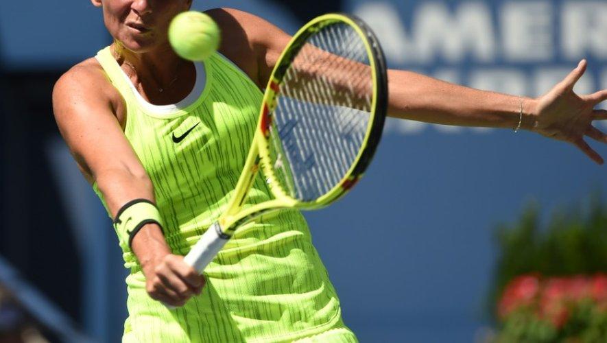 Roberta Vinci lors du match conyre Anna-Lena Friedsam à l'US Open le 29 août 2016 à New York