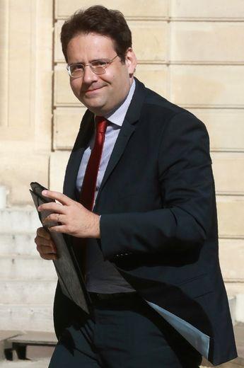 Le secrétaire d'Etat français au Commerce extérieur Matthias Fekl, à Paris le 23 juillet 2016