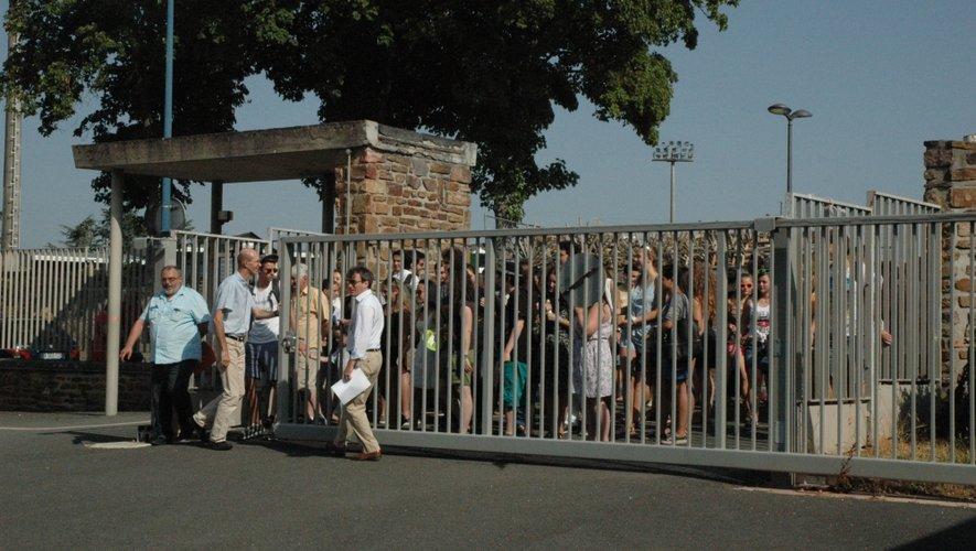La plupart des établissements recevront leurs élèves aujourd'hui vendredi. Ici, le lycée Foch à Rodez.