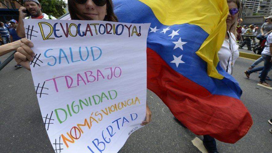 """Venezuela: l'opposition appelle à de nouvelles manifestations après une marche """"historique"""""""